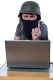 计算机黑客 库存照片