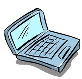 计算机 皇族释放例证