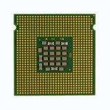 计算机CPU中央处理单元  免版税库存照片