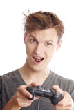 计算机gamer 库存图片