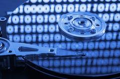 计算机hdd 图库摄影