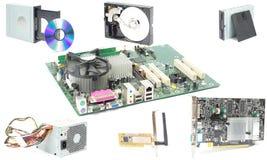 计算机mainboard硬件 图库摄影