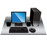计算机ok 免版税图库摄影