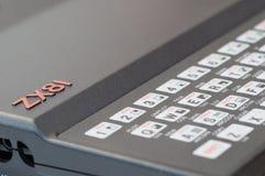 计算机sinclair zx81 图库摄影