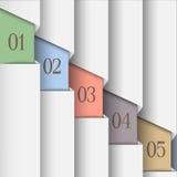 计算横幅的白皮书 免版税图库摄影