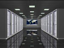 计算的全球现代 免版税库存照片