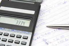 计算 免版税图库摄影