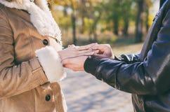 订婚人环形诉讼 图库摄影
