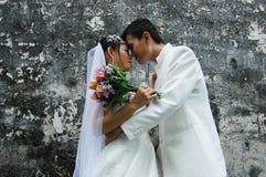 订婚和婚礼,婚礼夫妇 免版税库存图片