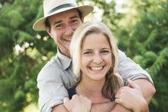 订婚夫妇 图库摄影