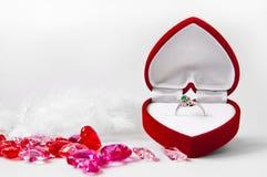 订婚构成#1 免版税库存照片