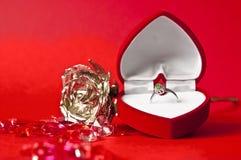 订婚构成#3 免版税库存图片