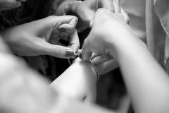 2订婚的妇女 免版税库存照片