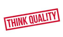 认为质量不加考虑表赞同的人 免版税库存照片