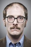 讨厌的教授Portrait 免版税库存照片