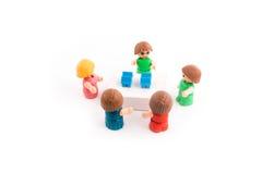 讨论或会议的概念 图库摄影