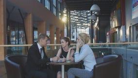 讨论的商业小组 图库摄影
