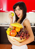 让我们吃许多果子 免版税库存照片