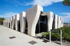 让・谷克多博物馆,当代建筑学,芒通 库存照片