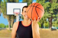 让s戏剧篮球 免版税库存图片