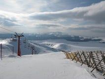 让s滑雪 免版税库存照片