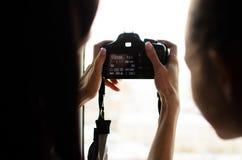 训练秘密审议设置和摄影 免版税库存照片