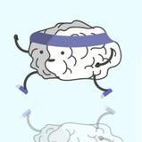 训练您的脑子 库存照片