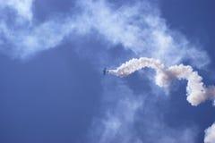 训练航空器 免版税库存图片