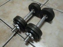 训练重量 库存图片