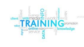训练,生气蓬勃的印刷术 库存例证