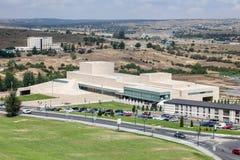 议会中心在阿维拉,西班牙 免版税库存照片