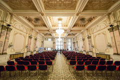 议会介绍屋子的宫殿 库存图片