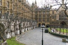 议会伦敦威斯敏斯特议院  免版税图库摄影