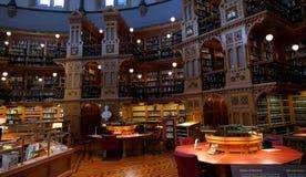议会图书馆在渥太华-安大略,加拿大的 免版税图库摄影