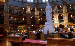 议会图书馆在渥太华-安大略,加拿大的 免版税库存图片