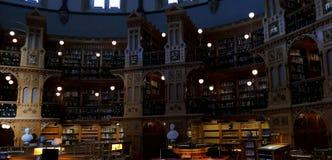 议会图书馆在渥太华-安大略,加拿大的 库存图片