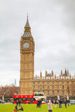 议会在威斯敏斯特摆正 库存图片