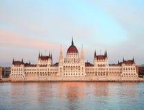 议会在布达佩斯 库存照片