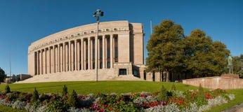 议会在赫尔辛基,芬兰安置 库存图片