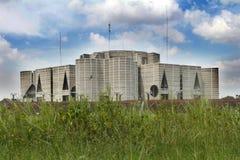 议会在达卡安置;孟加拉国 图库摄影