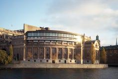 议会大厦。 免版税库存图片