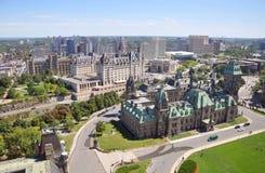 议会大厦东部块,渥太华 免版税库存照片