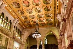 议会大厦参议院-渥太华,加拿大 库存照片