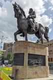 议会大厦在市斯科普里,马其顿共和国 库存照片