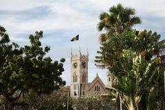 议会大厦在巴巴多斯 免版税库存图片