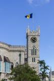 议会大厦在巴巴多斯 库存图片