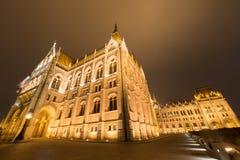 议会大厦-布达佩斯,匈牙利 图库摄影