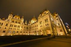 议会大厦-布达佩斯,匈牙利 免版税库存照片