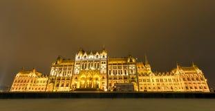 议会大厦-布达佩斯,匈牙利 免版税库存图片