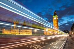 议会大笨钟和之家  免版税库存照片